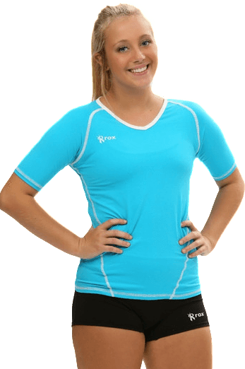 Womens Hawaii compliany half sleeve volleyball jersey - Rox Volleyball