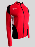 Push 1 Full Zip Jacket | Red | 1372,Women's Jacket - Rox Volleyball