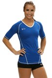 Compliant 1/2 Sleeve Jersey | 1365 Royal,Women's Jerseys - Rox Volleyball
