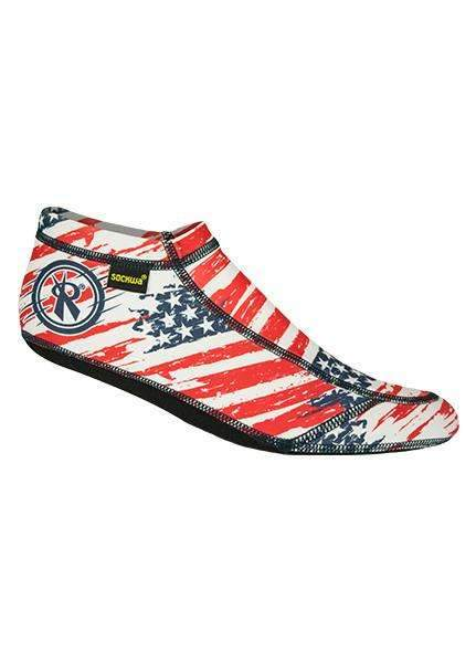 Sand Sol Performance Beach Sock | USA,Beach Socks - Rox Volleyball