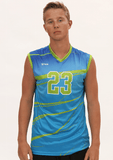 Shade Men's Sleeveless Sublimated Jersey,Custom - Rox Volleyball