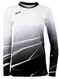 Shade Volleyball Jersey Black Fade  - Rox Volleyball