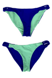 Twine Reversible Bikini Bottom  | 1469 | Royal/Menthol,Closeout - Rox Volleyball