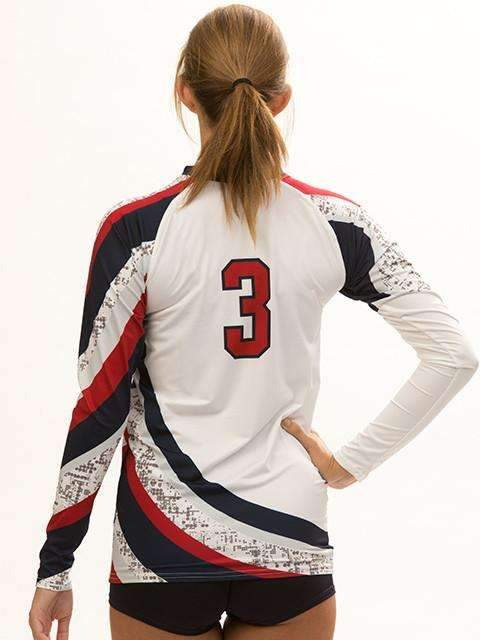 Tsunami Women's Long Sleeve Sublimated Jersey