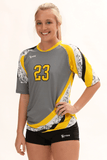 Tsunami Women's Half Sleeve Sublimated Jersey,Women's Jerseys - Rox Volleyball