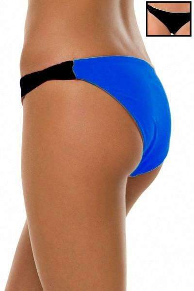 Twine Bottom | 1469 | Black/Royal Reversible,Beach Bottoms - Rox Volleyball
