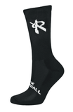 Grunge Ventilate Volleyball Crew Socks (2-Pair),Socks - Rox Volleyball
