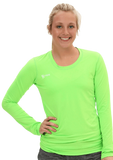 Voltaic Long Sleeve Jersey | 1261 Neon Green,Women's Jerseys - Rox Volleyball