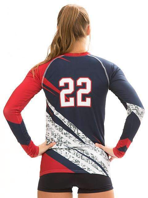 Victory Women's Sublimated Jersey,Custom - Rox Volleyball