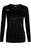 Voltaic Long Sleeve Jersey | 1261 Black,Women's Jerseys - Rox Volleyball