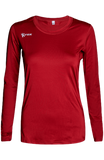 Voltaic Long Sleeve Jersey | 1261 Red,Women's Jerseys - Rox Volleyball