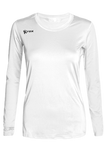 Voltaic Long Sleeve Jersey | 1261 White,Women's Jerseys - Rox Volleyball