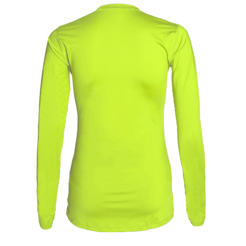 Voltaic Long Sleeve Jersey | 1261 Neon Yellow,Women's Jerseys - Rox Volleyball