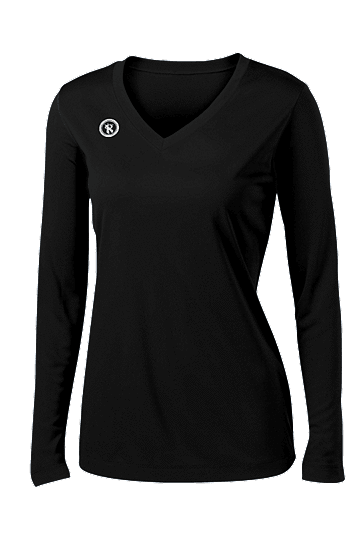 Fundamental Long Sleeve Volleyball Jersey | Black
