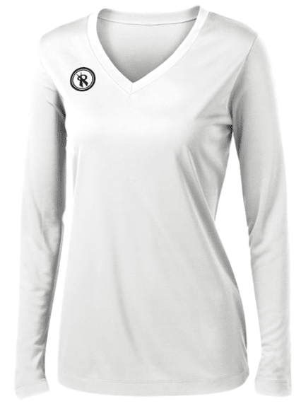Fundamental Long Sleeve Volleyball Jersey | White