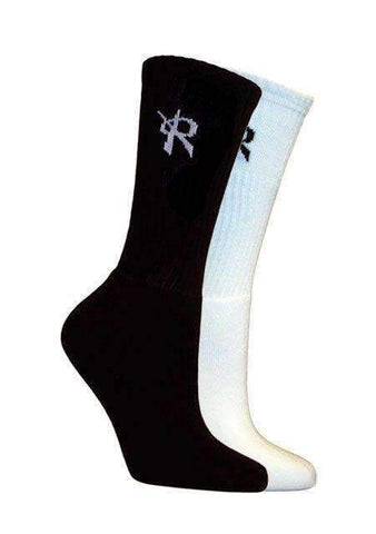 Grunge Ventilate Volleyball Crew Socks (2-Pair)
