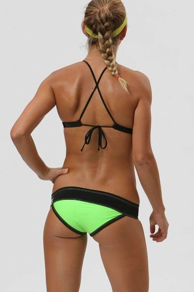 Roxstar | Titanium / Neon Green  | 1308,Beach Tops - Rox Volleyball
