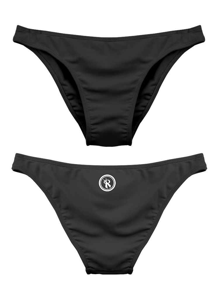 2020 Rio Cheeky Bottoms | 1411 | Black,Beach Bottoms - Rox Volleyball