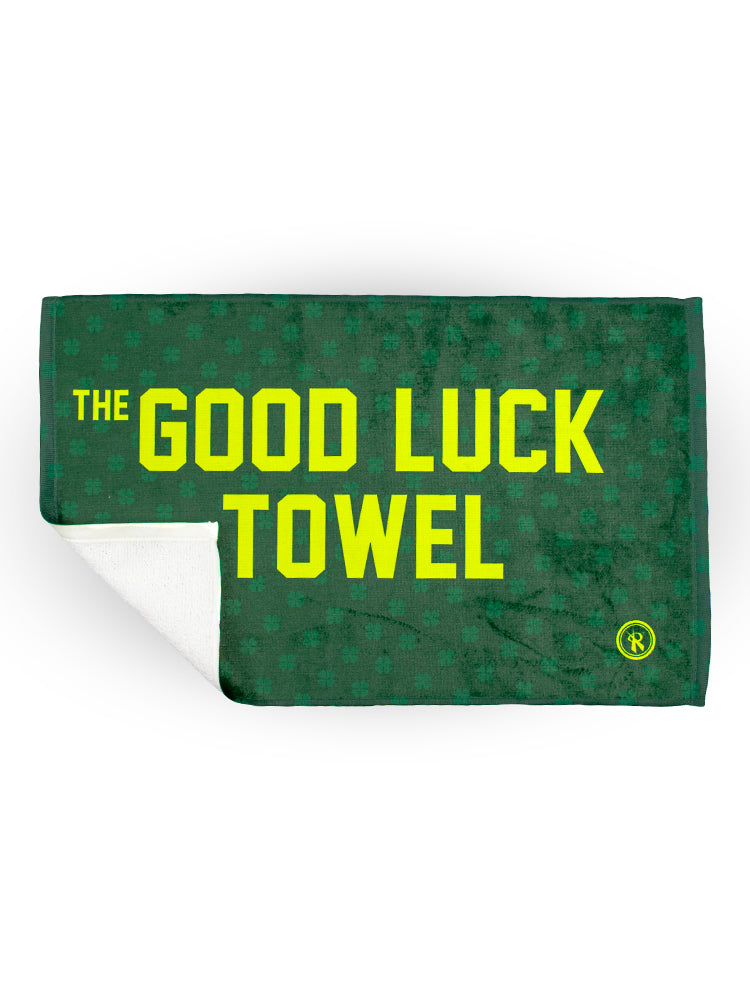 St. Patricks Day Lucky Good Luck Shamrock Towel, - Rox Volleyball