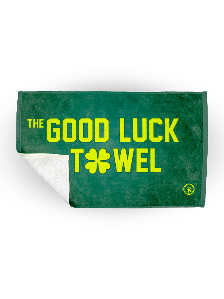 St. Patrick's Day Good Luck Shamrock Player Towel, - Rox Volleyball