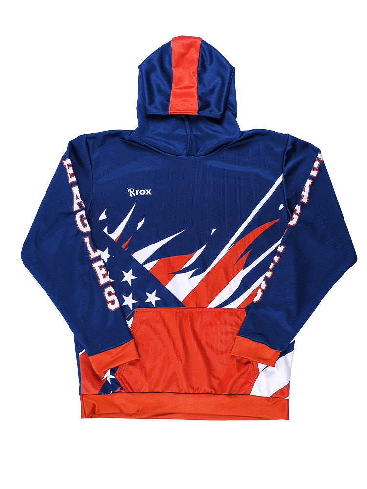 Liberty Hoodie | Unisex Sublimated Custom Hoodie, - Rox Volleyball