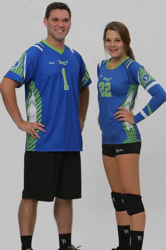 Prism Mens or Womens Sublimated Jersey,Custom - Rox Volleyball