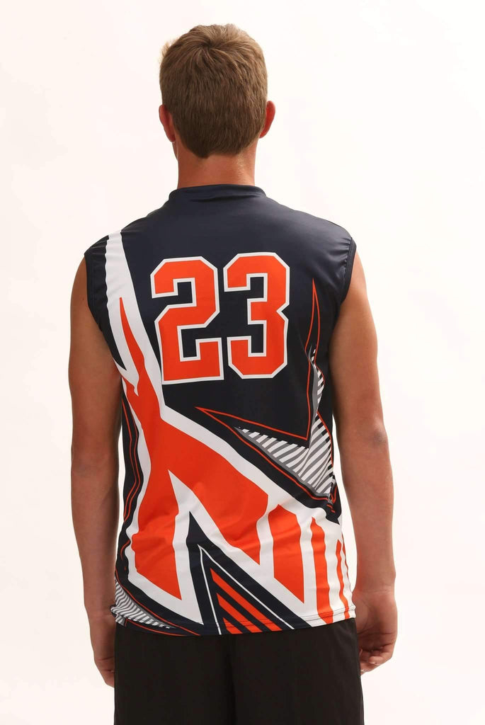 Xcelerator Men's Sublimated Volleyball Jersey,Custom - Rox Volleyball