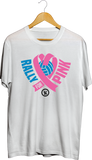Rox Rally For Pink Performance Men's Customized Shirts, - Rox Volleyball