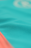 Rhapsody | 1444 | Lt. Turquoise/Coral Reversible,Beach Bottoms - Rox Volleyball