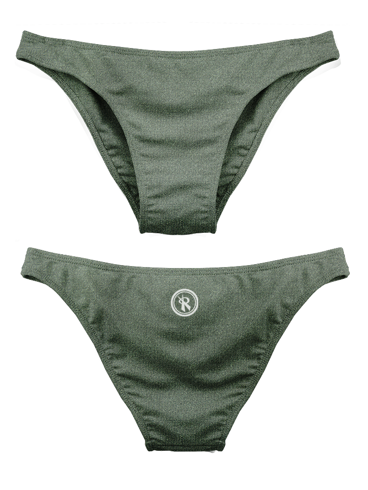 2020 Rio Cheeky Bottoms | 1411 | Army Shimmer,Beach Bottoms - Rox Volleyball