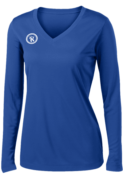 Fundamental Long Sleeve Volleyball Jersey | Royal