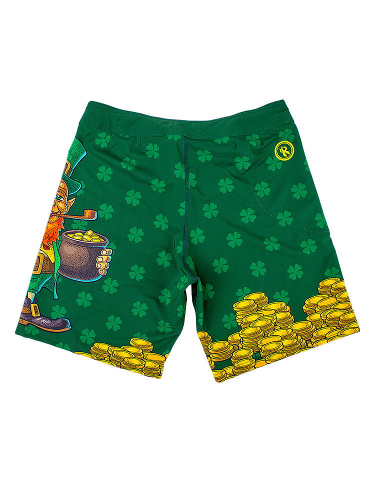 Limited Edition St. Patrick's Day Boardshorts,Board Shorts - Rox Volleyball