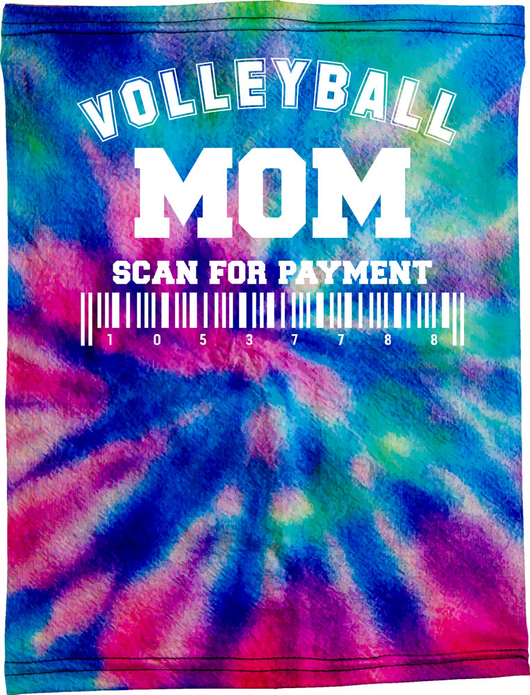 Volleyball Mom Be Happy Neck Buff