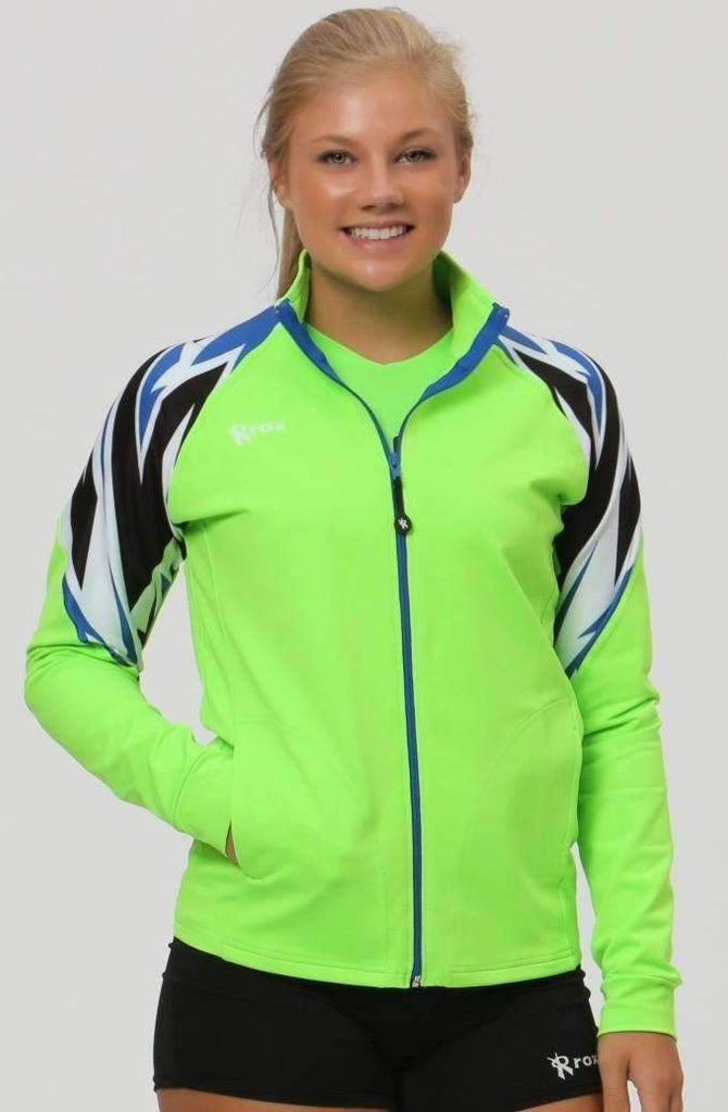 Bolt Full Zip Volleyball Jacket | CUSTOM