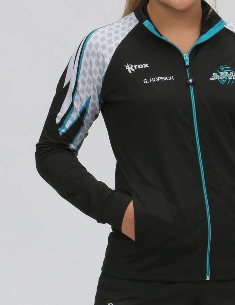Women's Diamond Sublimated Volleyball Jacket | CUSTOM