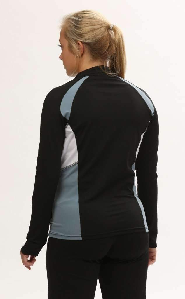 Push 1 Full Zip Jacket | Grey | 1372,Women's Jacket - Rox Volleyball