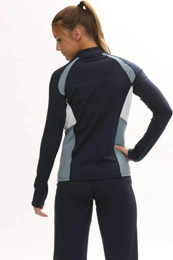 Push 1 Volleyball Jacket | Navy | 1372,Women's Jacket - Rox Volleyball