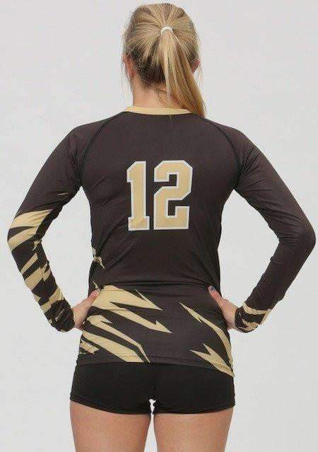 Bolt Women's Sublimated Jersey (2 Color),Custom - Rox Volleyball