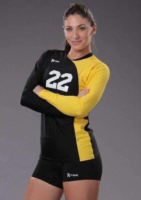 Pride Long Sleeve Custom Jersey,Women's Jerseys - Rox Volleyball