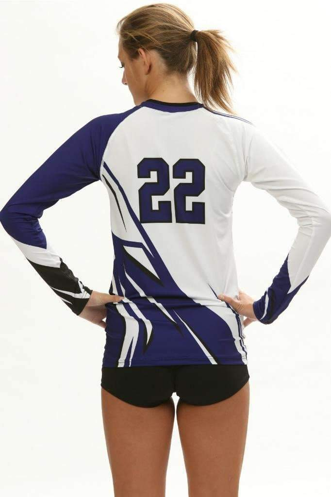 Quake Women's Sublimated Jersey | R029,Custom - Rox Volleyball