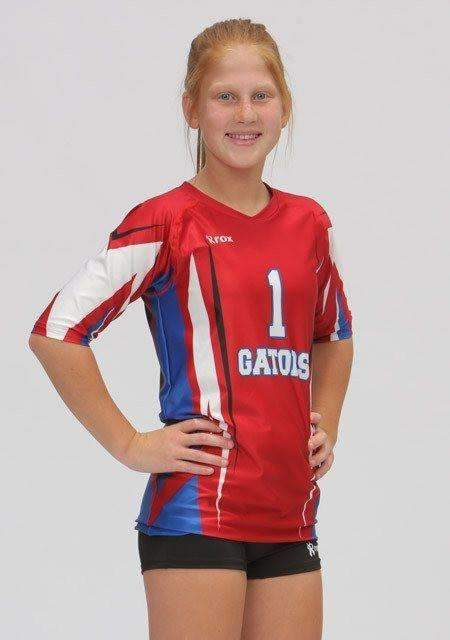 Quantum Cap Sleeve Sublimated Jersey,Custom - Rox Volleyball