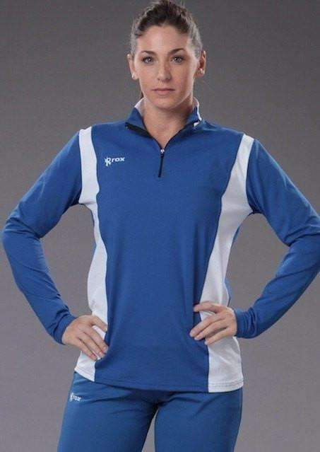 Toxic Custom 1/4 Zip Pullover,Women's Pullover - Rox Volleyball