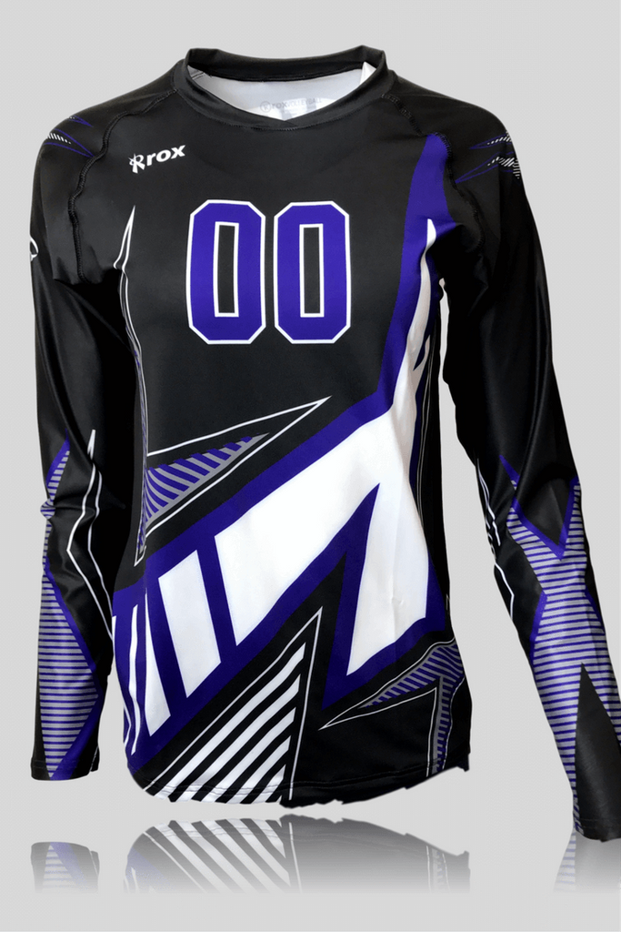 Xcelerator Women's Sublimated Volleyball Uniform,Custom - Rox Volleyball