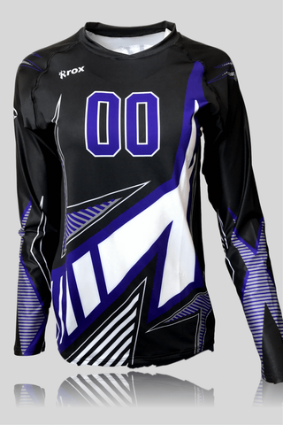 Odyssey Womens Half Sleeve Sublimated Jersey