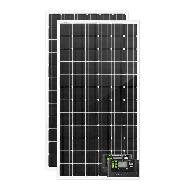 500W 12V Mono Solar Panel Kit for Vehicles, Caravans, Boats