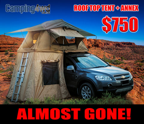 Roof Top Tent & Annex Camping4wd