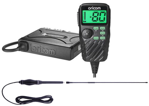 VALUE PACK Oricom UHF390 5W UHF Radio +  Antenna