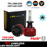 H1 - 112W - 11200LM Philips LED Headlight KIT HIGH LOW Beam