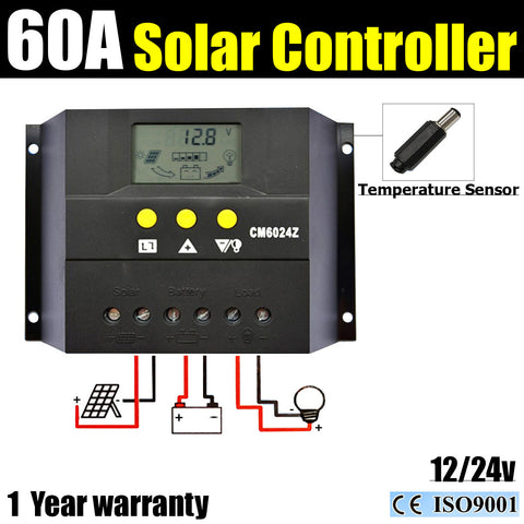 60 Amp Solar Regulator