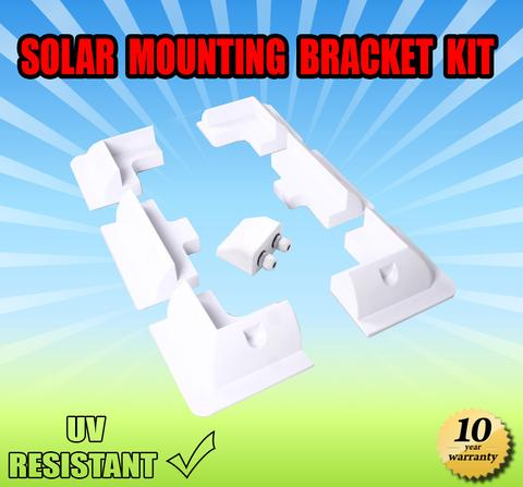 Solar Panel Mounting Bracket kit Mount Corner Boat Kit Caravan RV